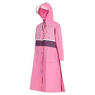 Wildcraft Wiki Mist - Rainwear for Kids 8-12 yrs - Pink