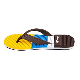 Wildcraft Unisex Flip Flops Tribe - Brown Yellow