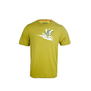 Wildcraft Men Printed Crew T Shirt - Knot - Green