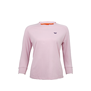 Wildcraft Women Crew Sweatshirt - Pink