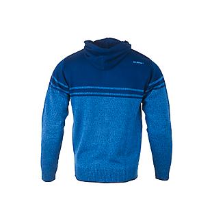 Wildcraft Men Acrylic Hooded Sweatshirt With Zipper - Blue