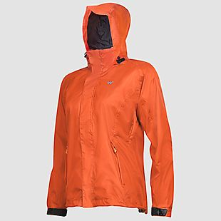 Wildcraft Hypadry Women Rain Pro Jacket - Puffin'S Bill Orange