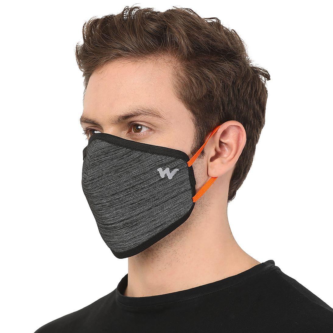 VIROSHIELD W95x Reusable Outdoor Respirator – GREY MELANGE
