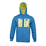 Wildcraft Men Hooded Sweatshirt - Blue